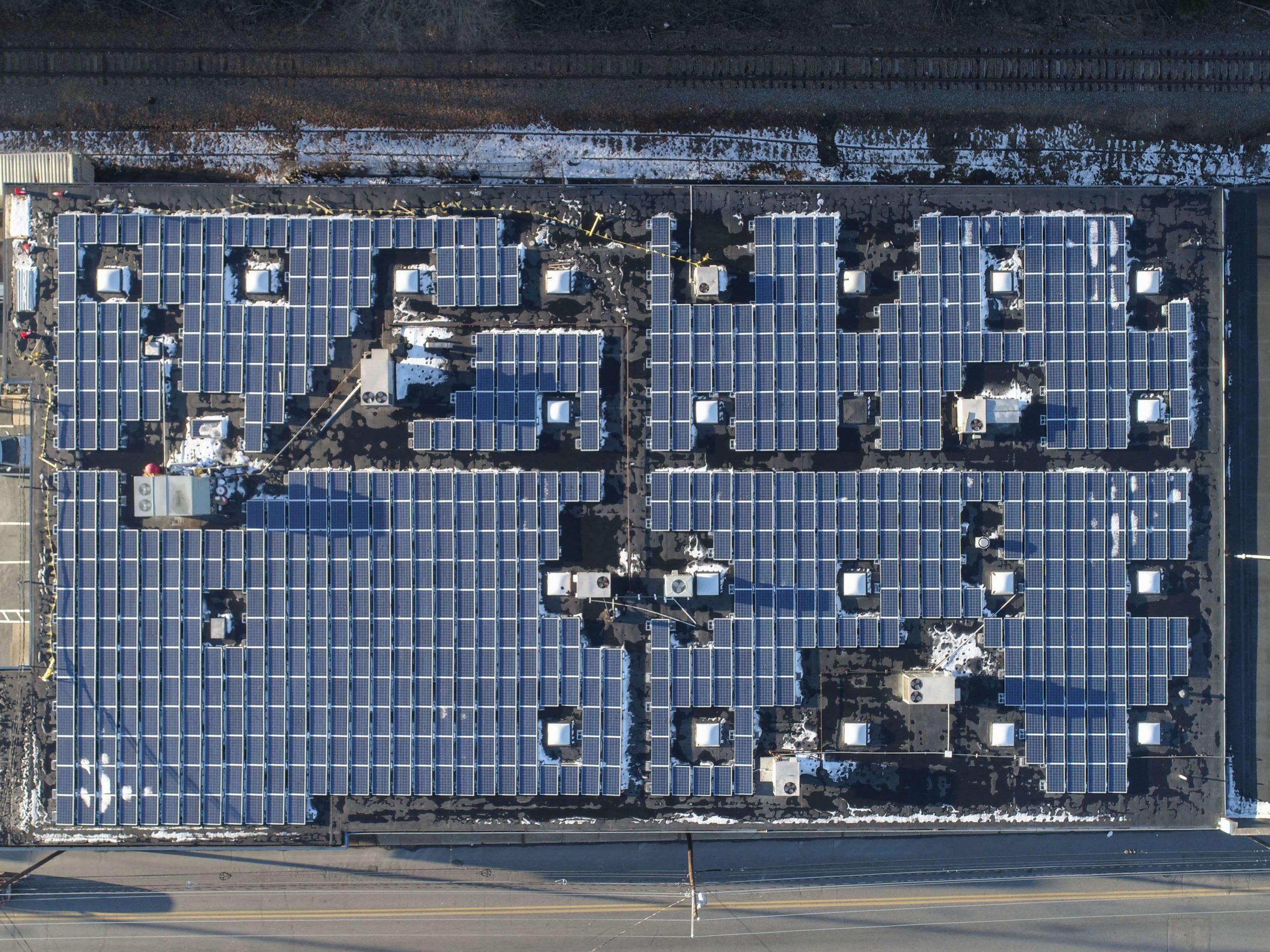 precision parts solar panels