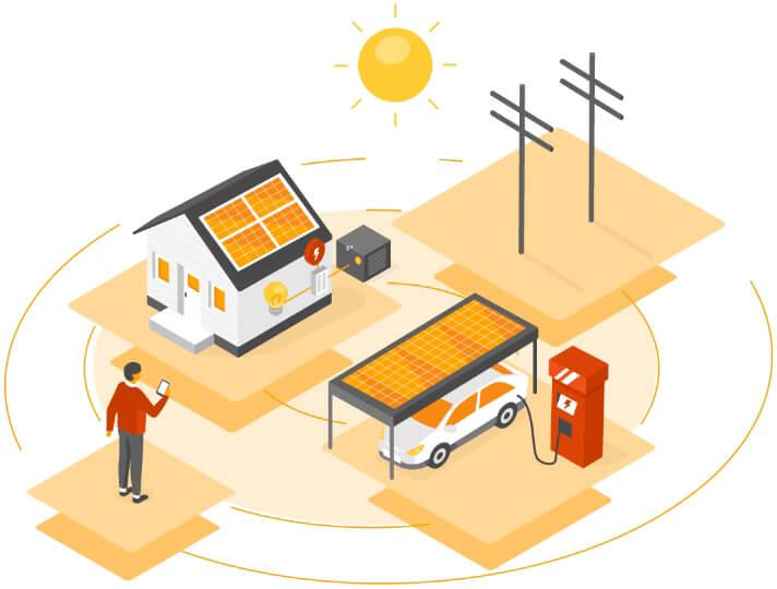 how residential solar power works