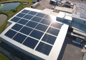 wamplers sausage farm solar panels